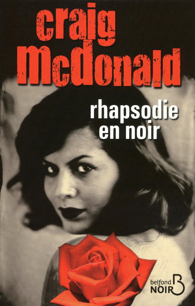 Couverture de l'ouvrage Rhapsodie en noir