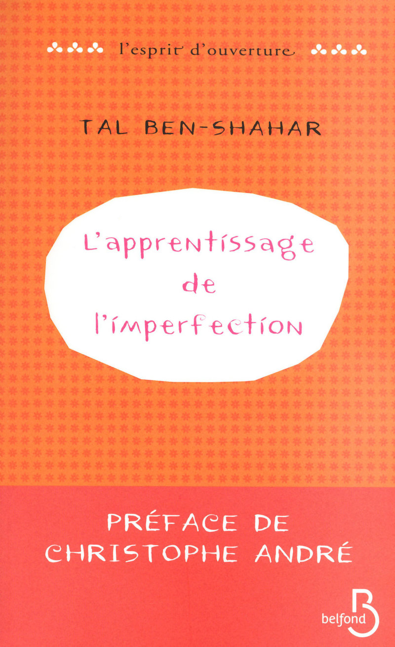 Couverture de l'ouvrage L'Apprentissage de l'imperfection