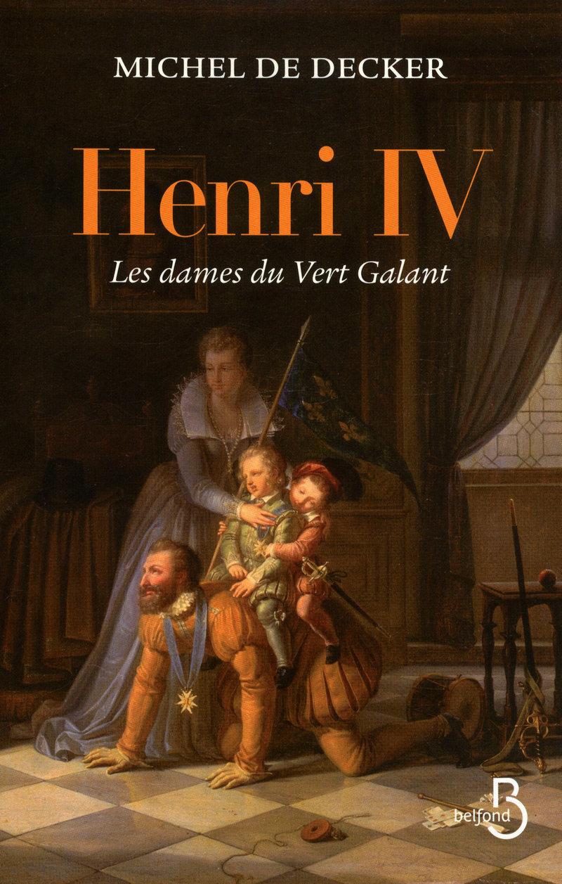 Couverture de l'ouvrage Henri IV
