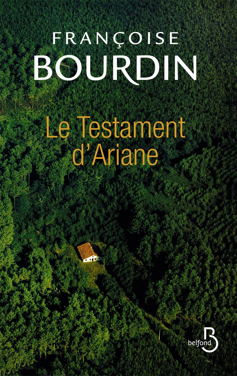 Couverture de l'ouvrage Le Testament d'Ariane