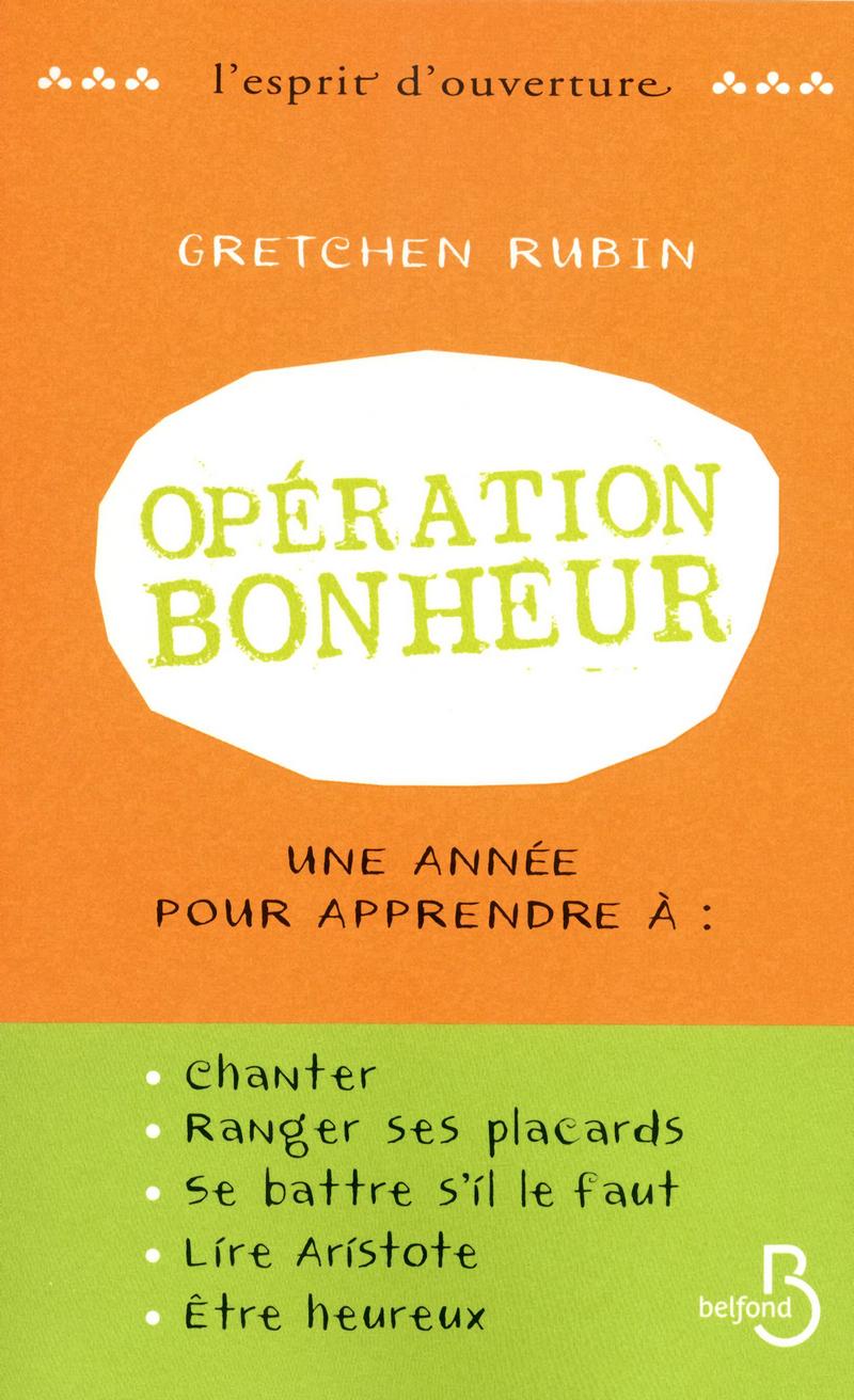 Couverture du livre Opération bonheur