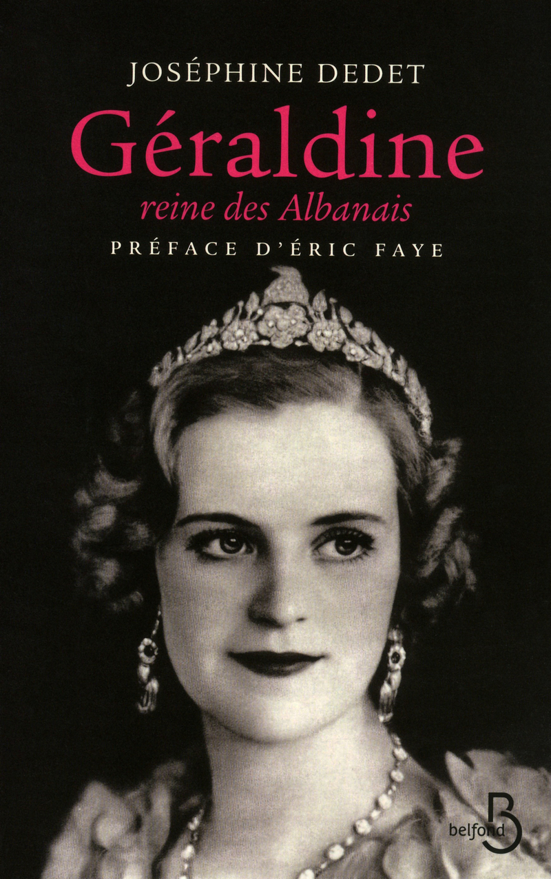 Couverture de l'ouvrage Géraldine, reine des albanais