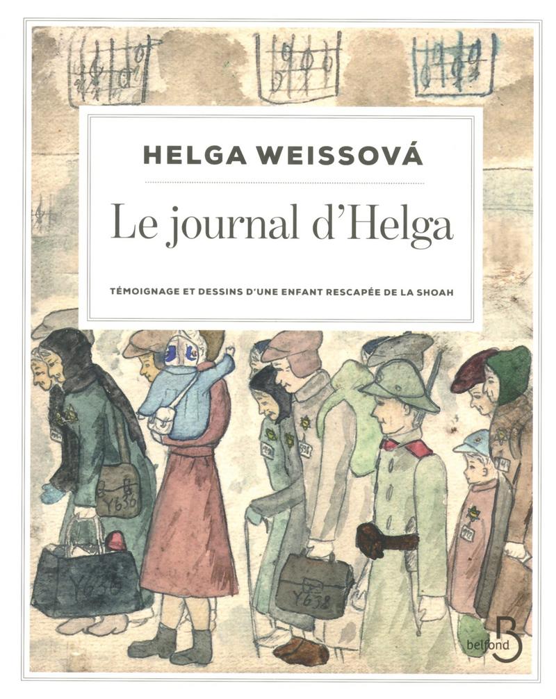 Couverture du livre Le Journal d'Helga