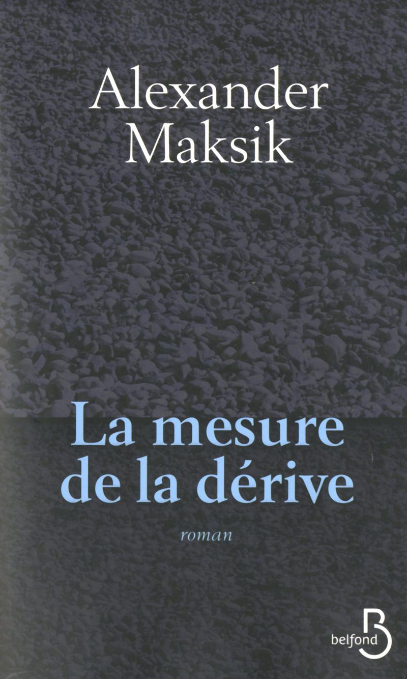 Couverture du livre La Mesure de la dérive