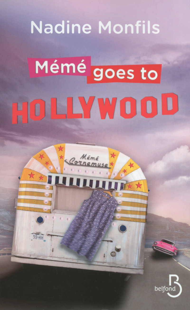 Couverture du livre Mémé goes to Hollywood