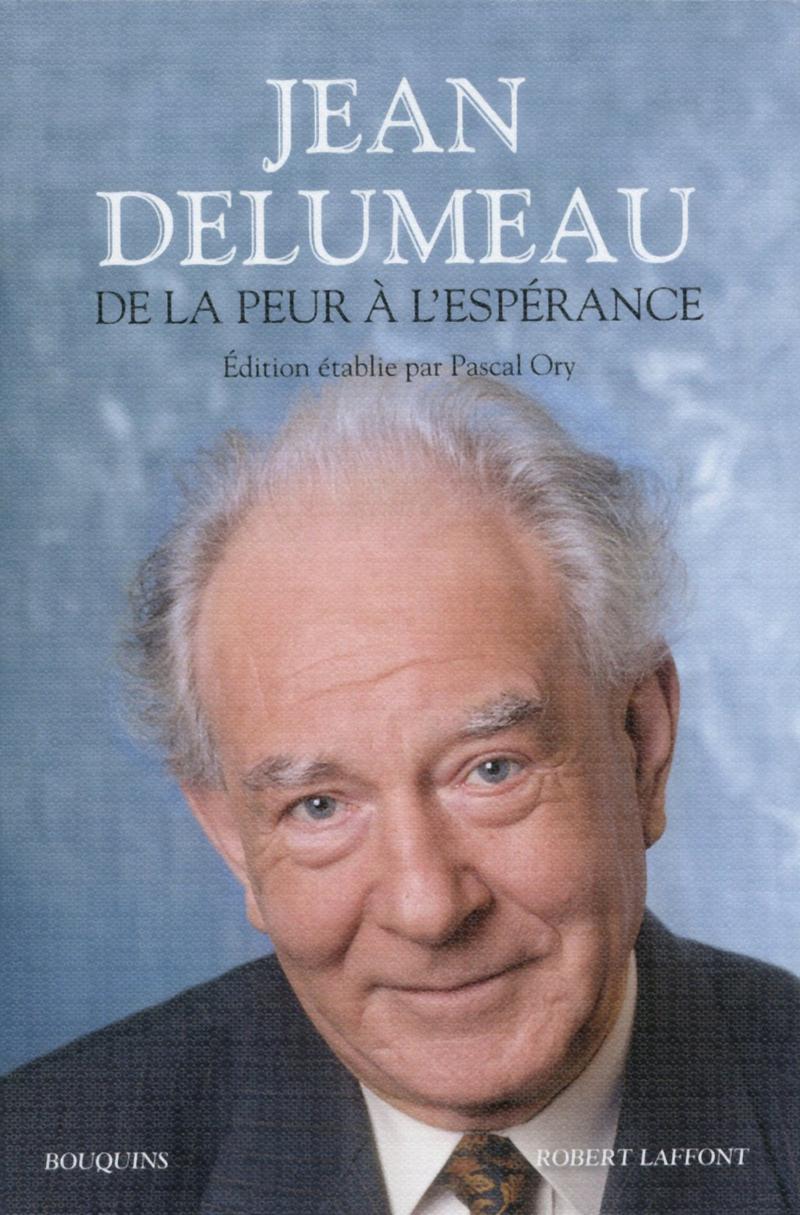 Couv. De la peur à l'espérance / J. Delumeau