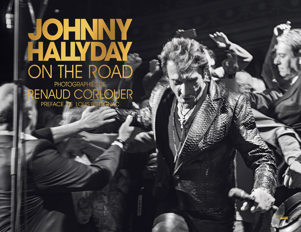 Johnny Hallyday on the road -