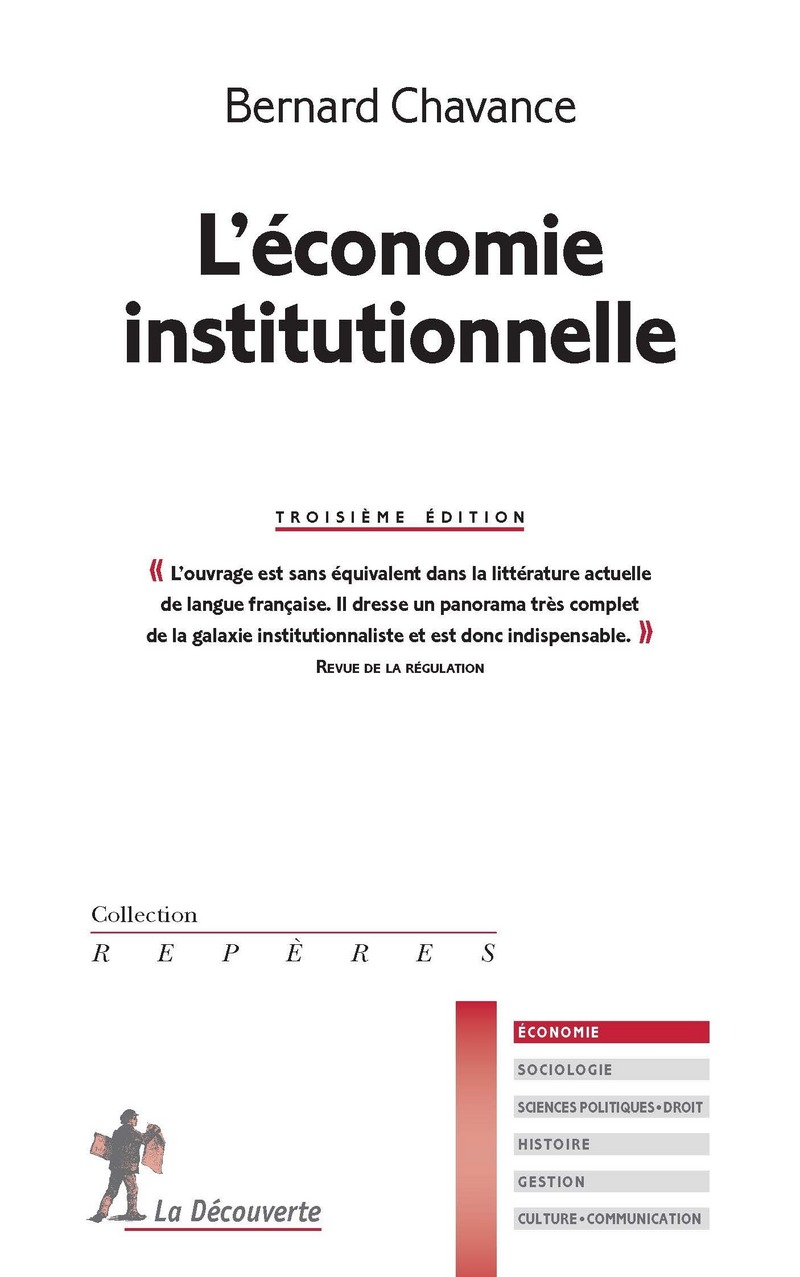 L'économie institutionnelle - Bernard CHAVANCE