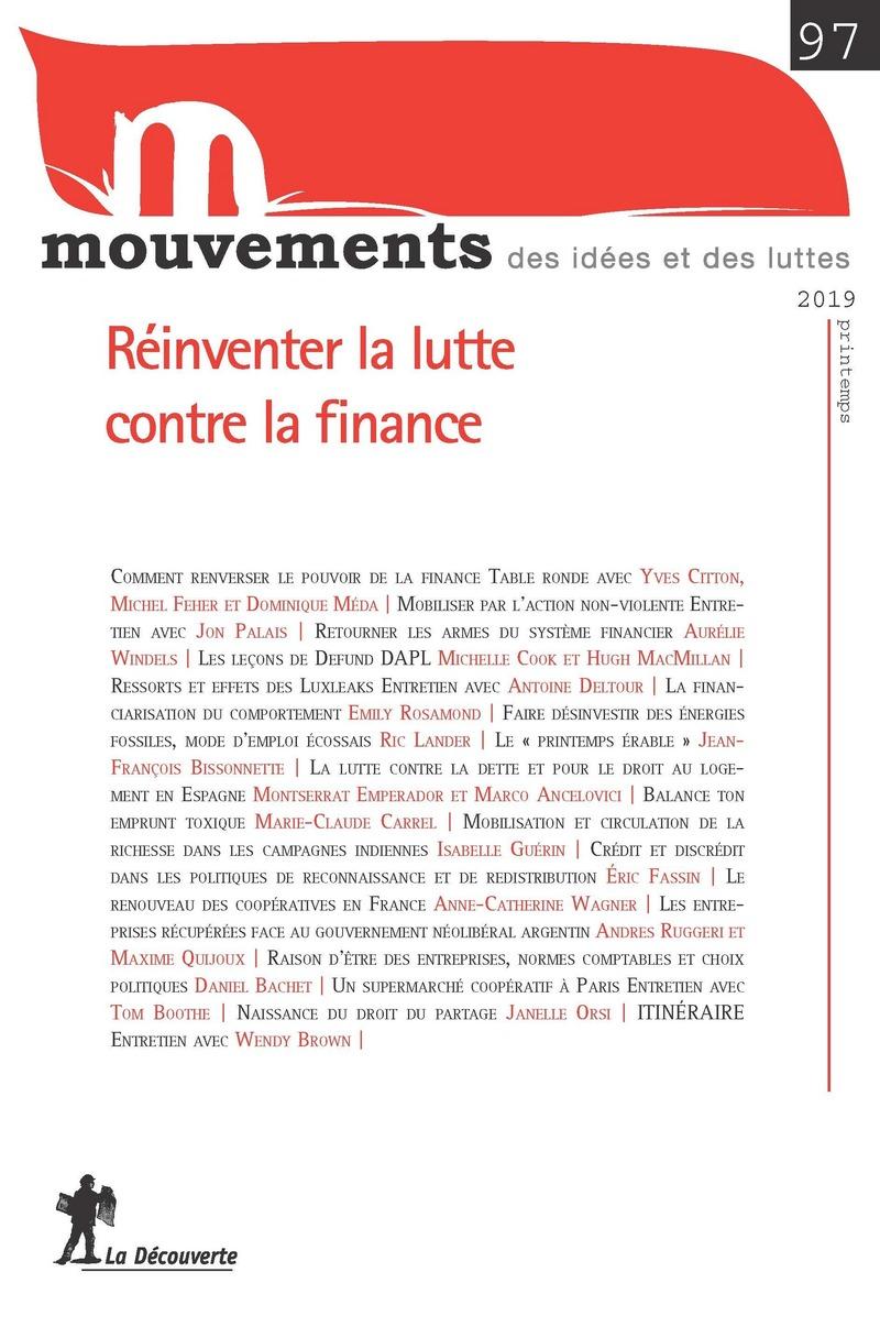 Réinventer la lutte contre la finance -  REVUE MOUVEMENTS