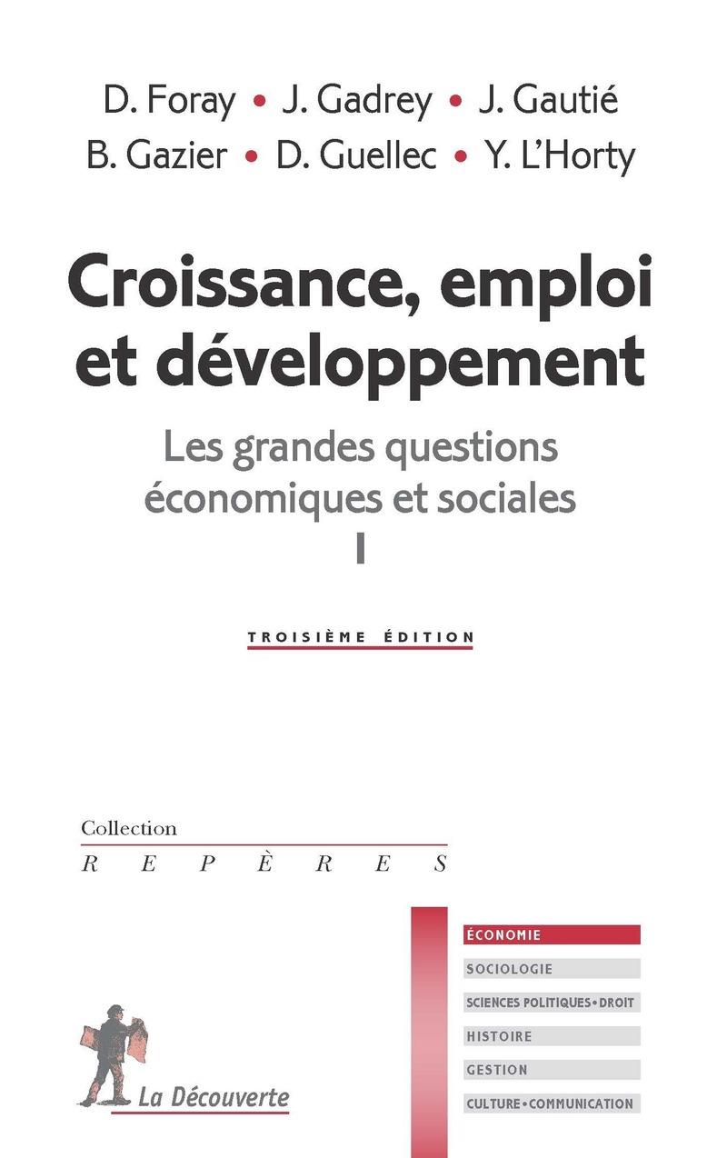 Croissance, emploi et développement