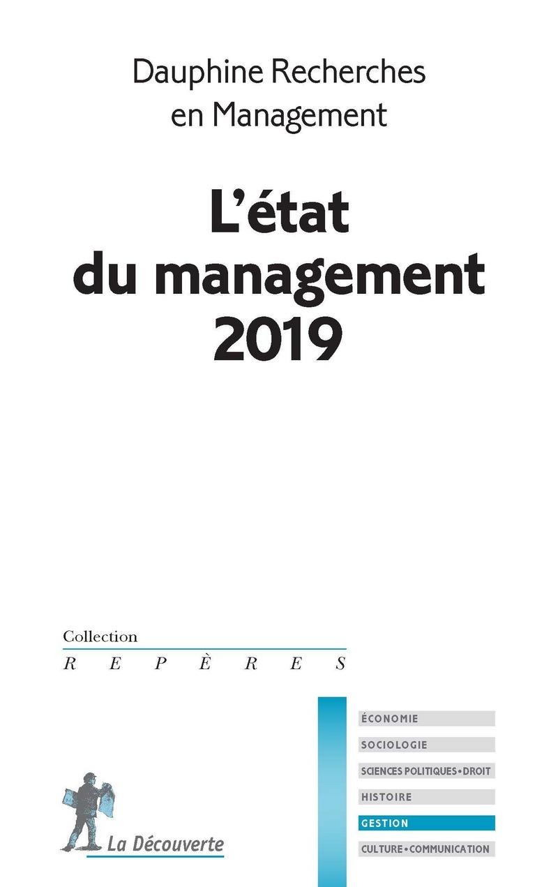 L'état du management 2019 -  DAUPHINE RECHERCHES EN MANAGEMENT