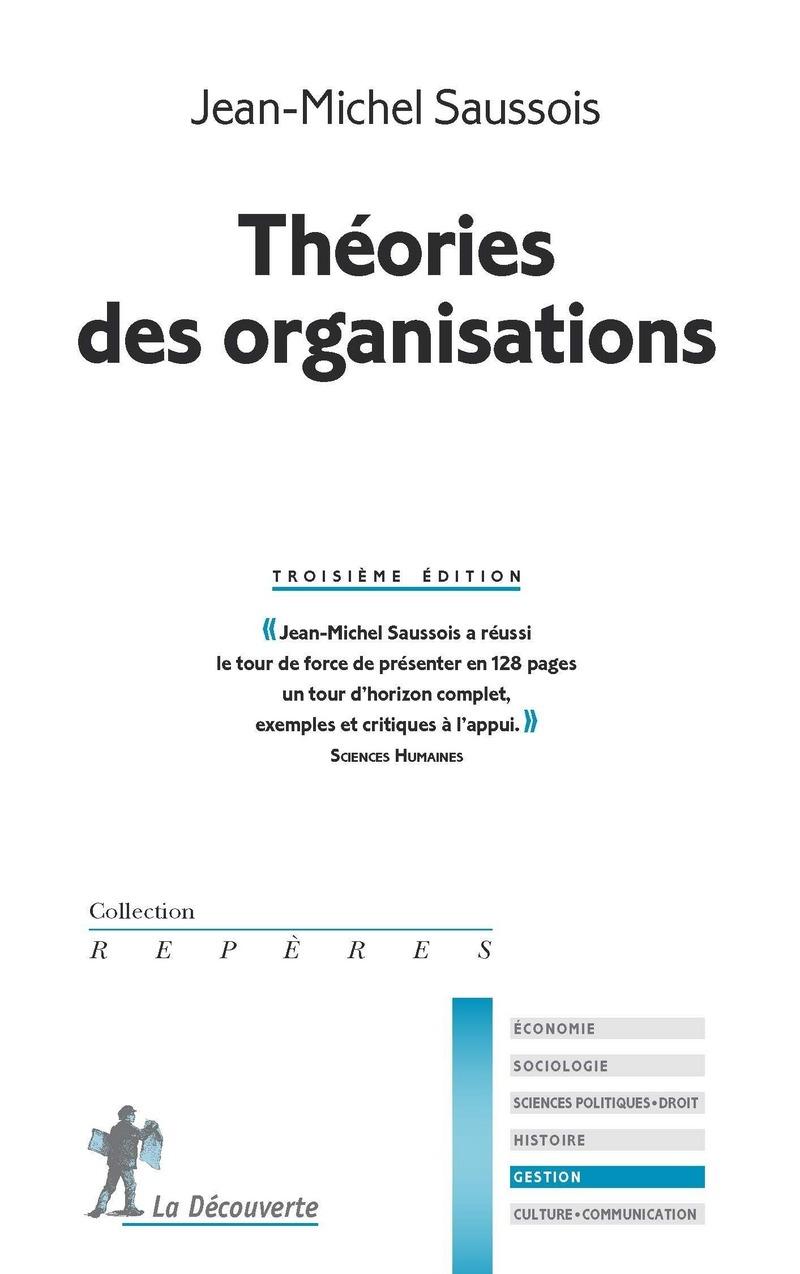 Théories des organisations - Jean-Michel SAUSSOIS