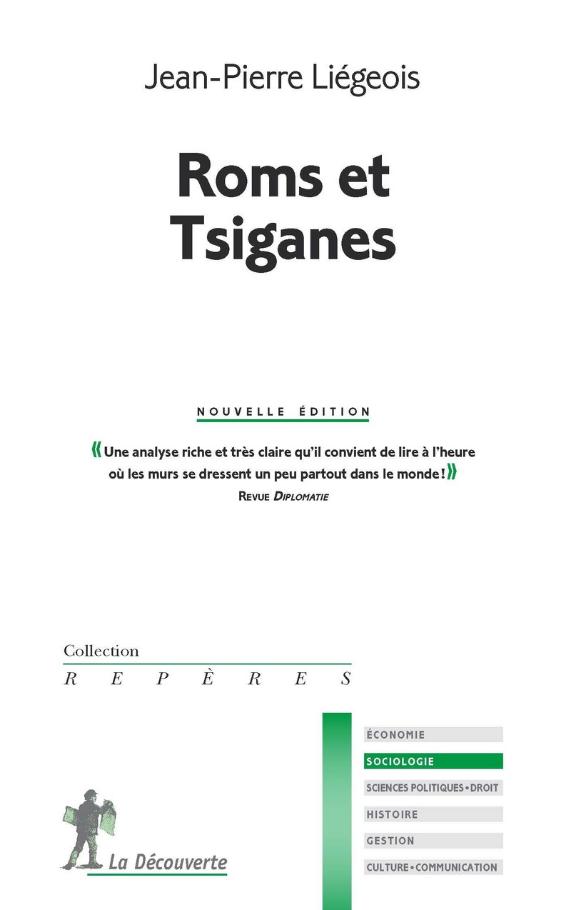 Roms et Tsiganes - Jean-Pierre LIÉGEOIS