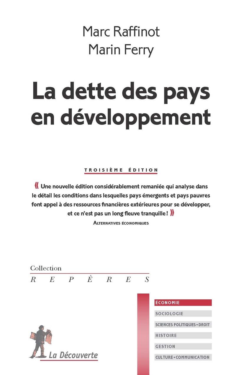 La dette des pays en développement - Marin FERRY, Marc RAFFINOT