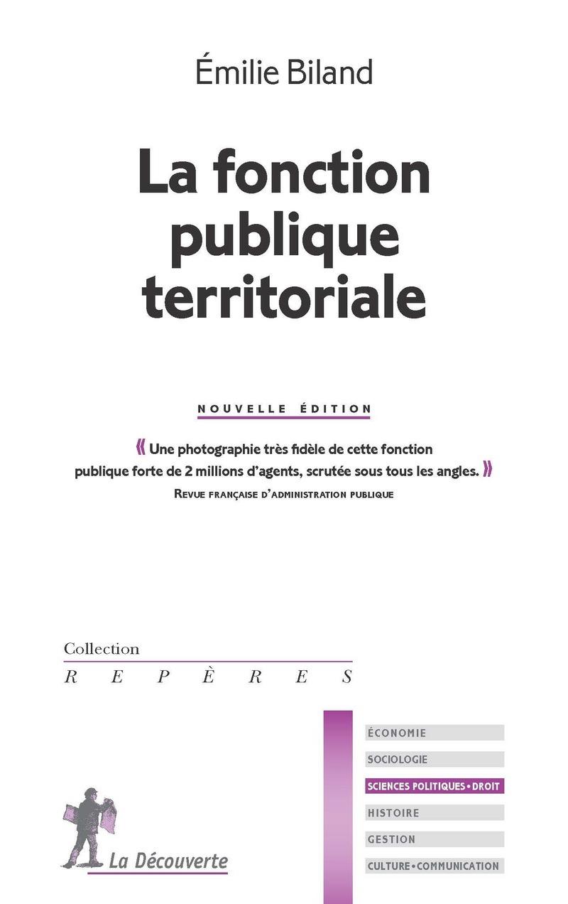 La fonction publique territoriale - Émilie BILAND