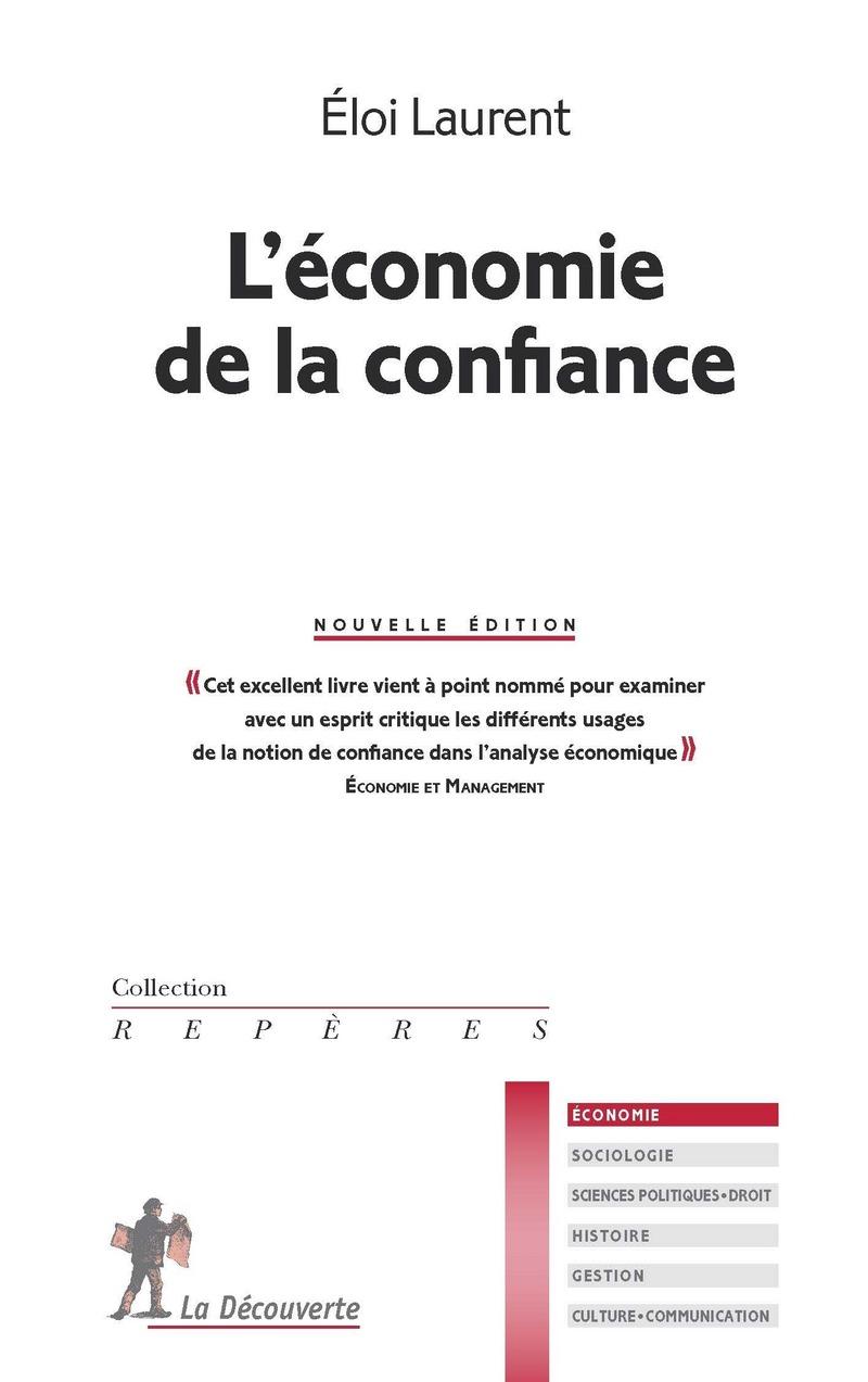 L'économie de la confiance - Éloi LAURENT