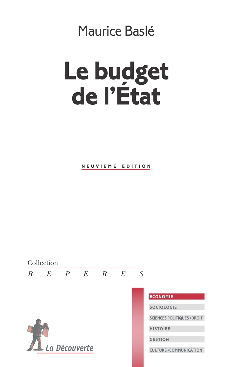 Le budget de l'État - Maurice BASLÉ