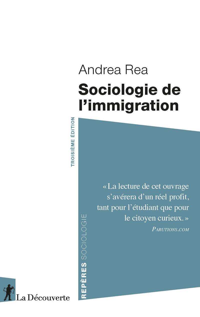 Sociologie de l'immigration - Andrea REA