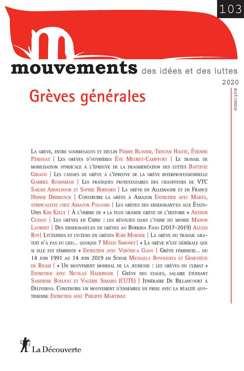 Grèves générales -  REVUE MOUVEMENTS