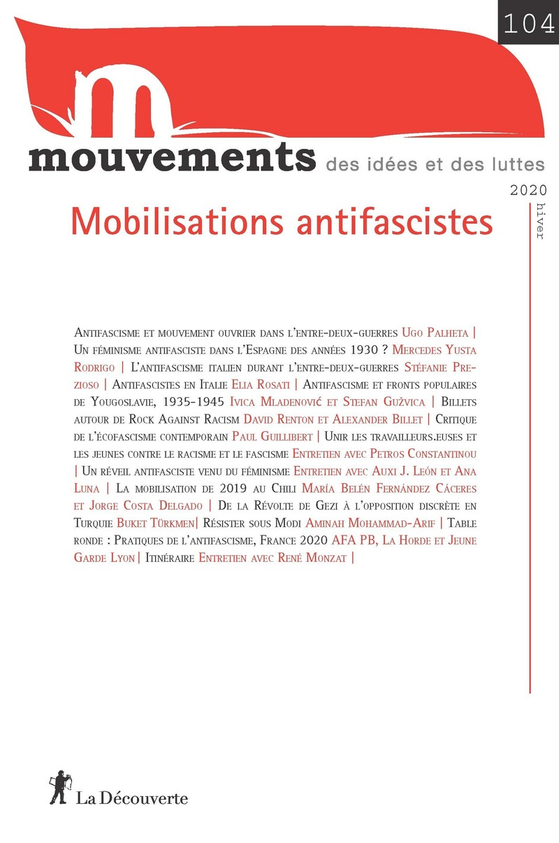 Mobilisations antifascistes -  REVUE MOUVEMENTS
