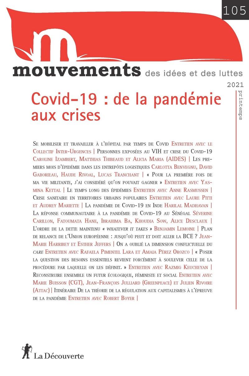 Covid-19 : de la pandémie aux crises -  REVUE MOUVEMENTS
