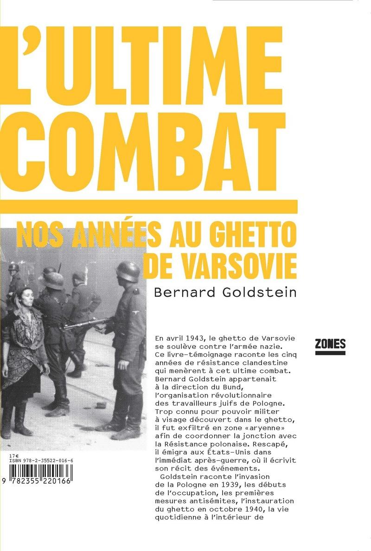 L'ultime combat - Bernard GOLDSTEIN