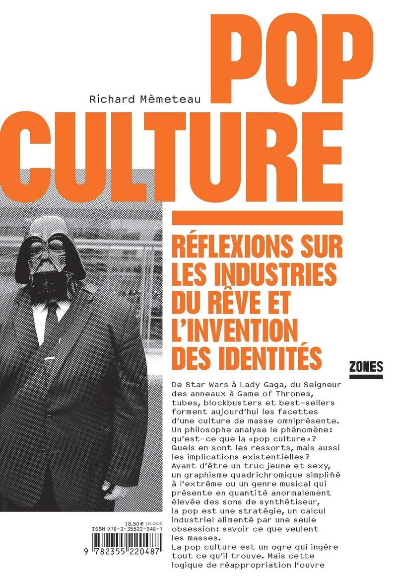 Pop culture - Richard MÈMETEAU
