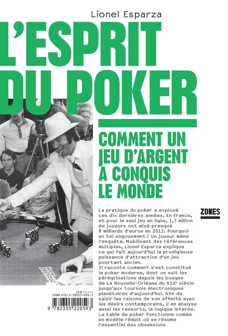 L'esprit du poker - Lionel ESPARZA