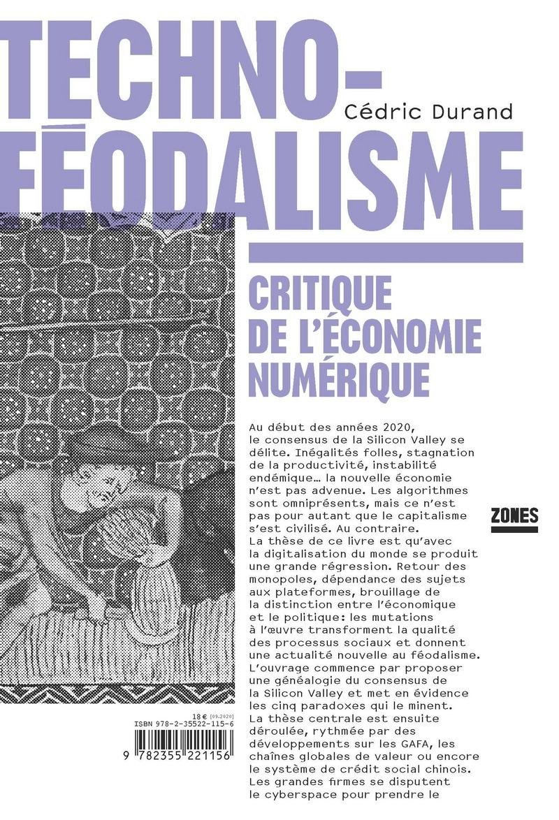Technoféodalisme - Cédric DURAND