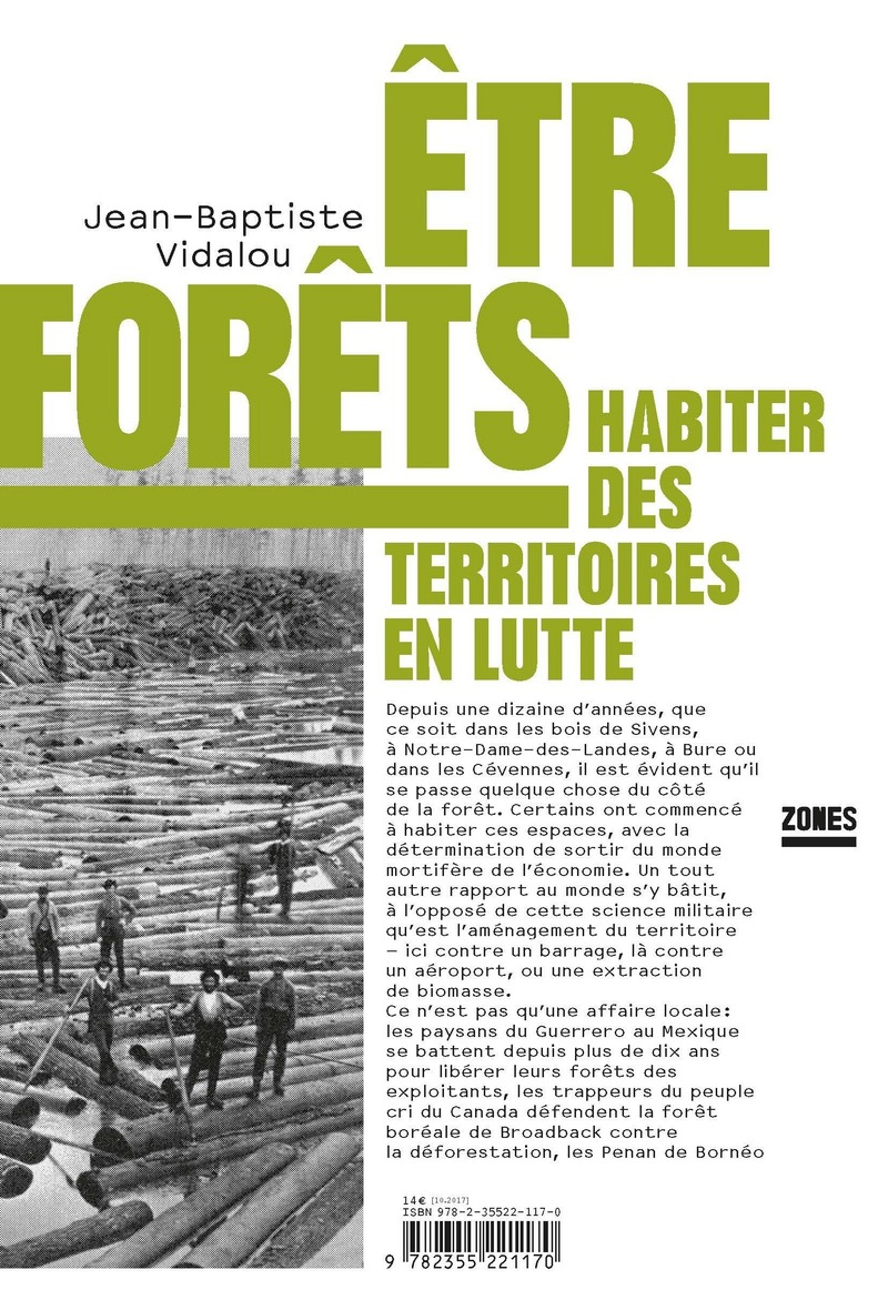 Être forêts - Jean-Baptiste VIDALOU