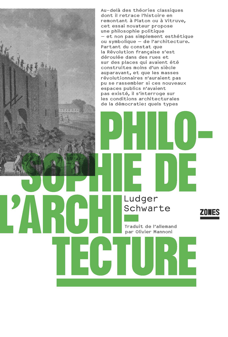 Philosophie de l'architecture - Ludger SCHWARTE