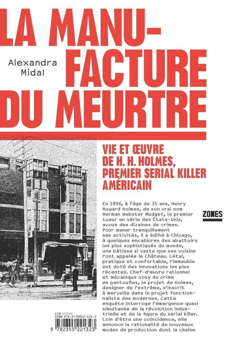 La Manufacture Du Meurtre Alexandra Midal Editions La