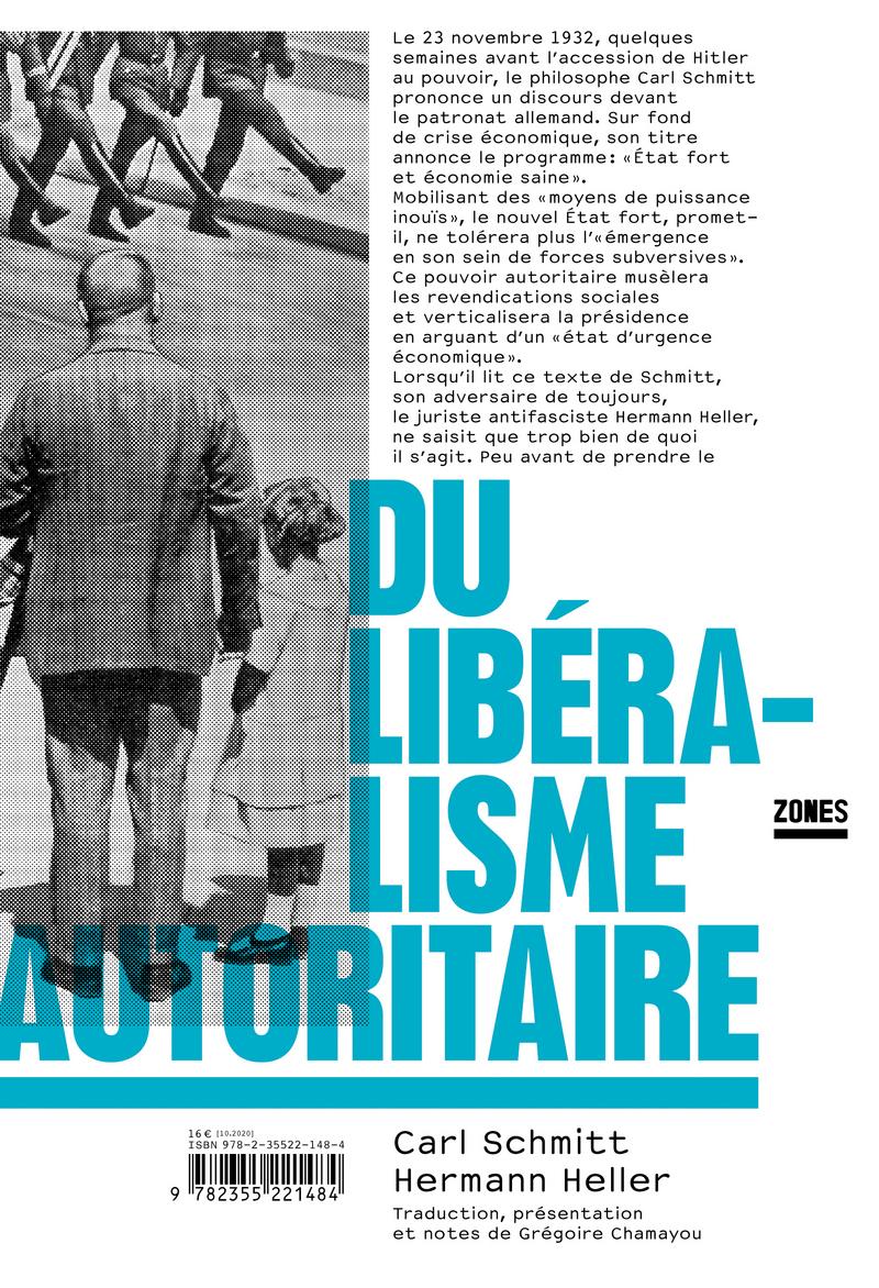 Du libéralisme autoritaire - Hermann HELLER, Carl SCHMITT