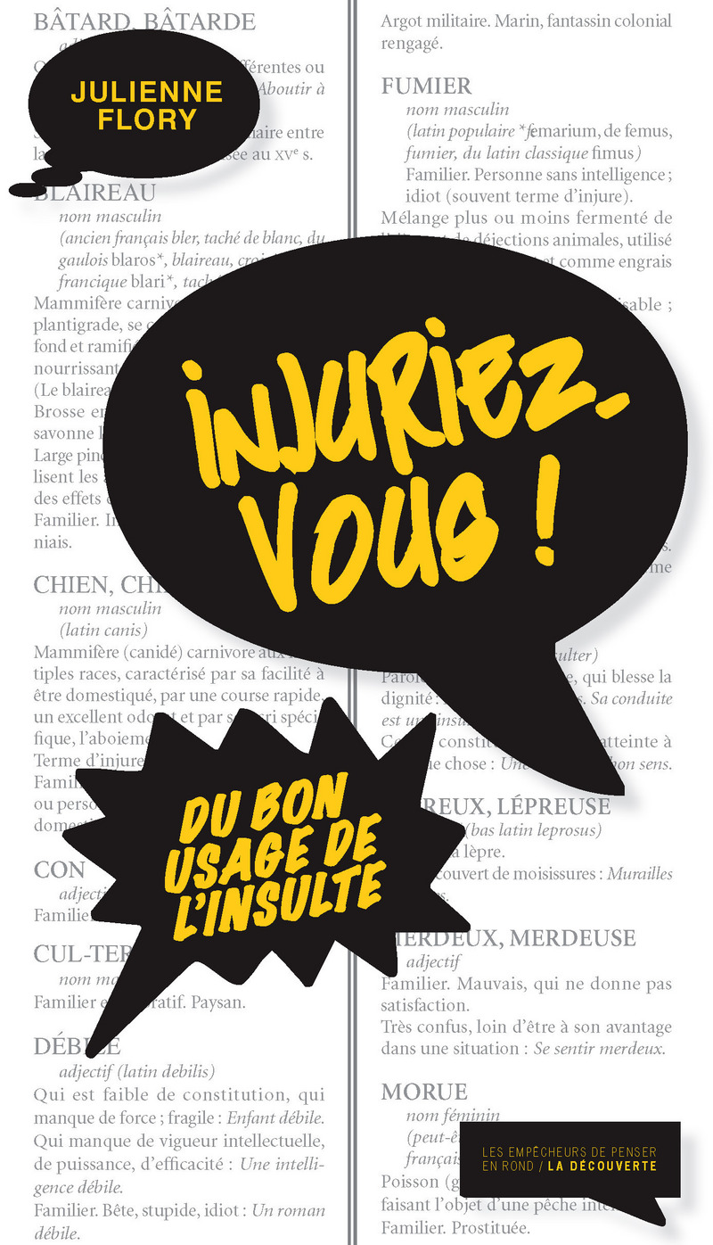 Injuriez-vous ! - Julienne FLORY