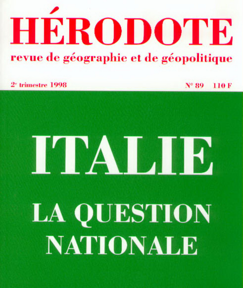 Italie, la question nationale