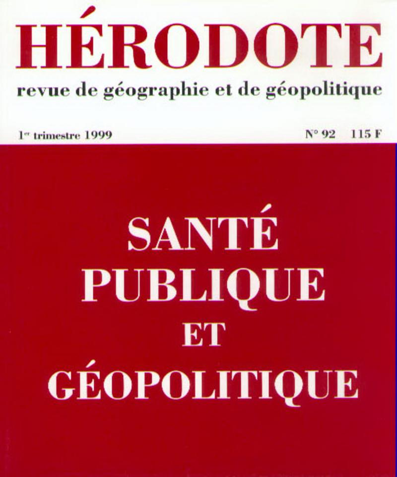 Santé publique et géopolitique -  REVUE HÉRODOTE