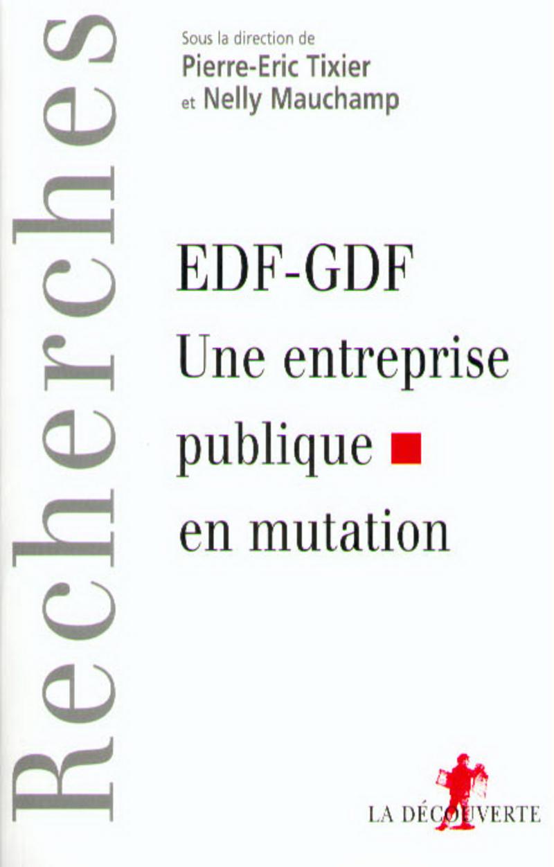 EDF-GDF: une entreprise publique en mutation - Nelly MAUCHAMP, Pierre-Eric TIXIER