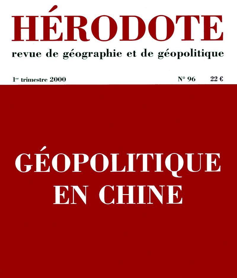 Géopolitique en Chine