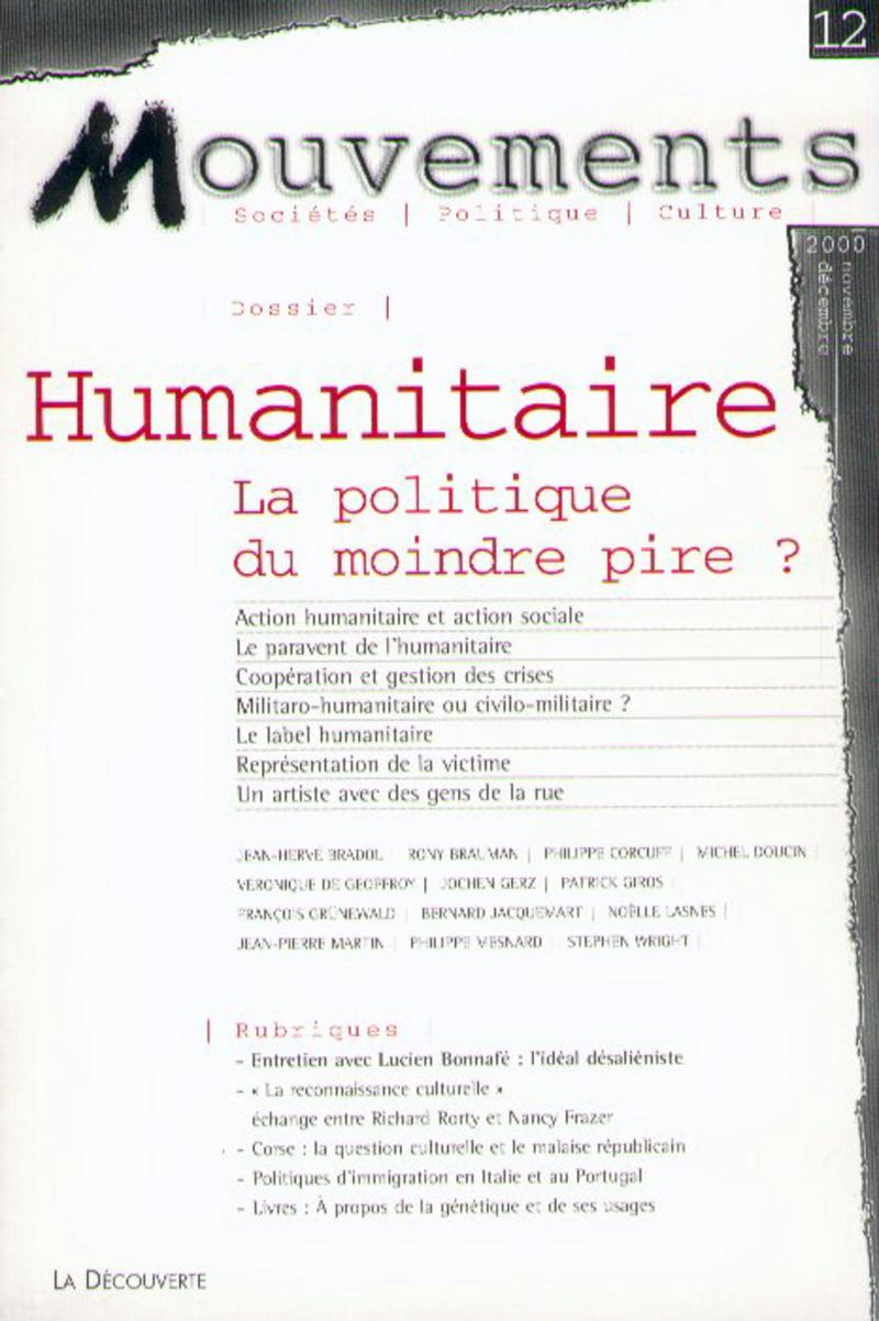 Humanitaire -  REVUE MOUVEMENTS