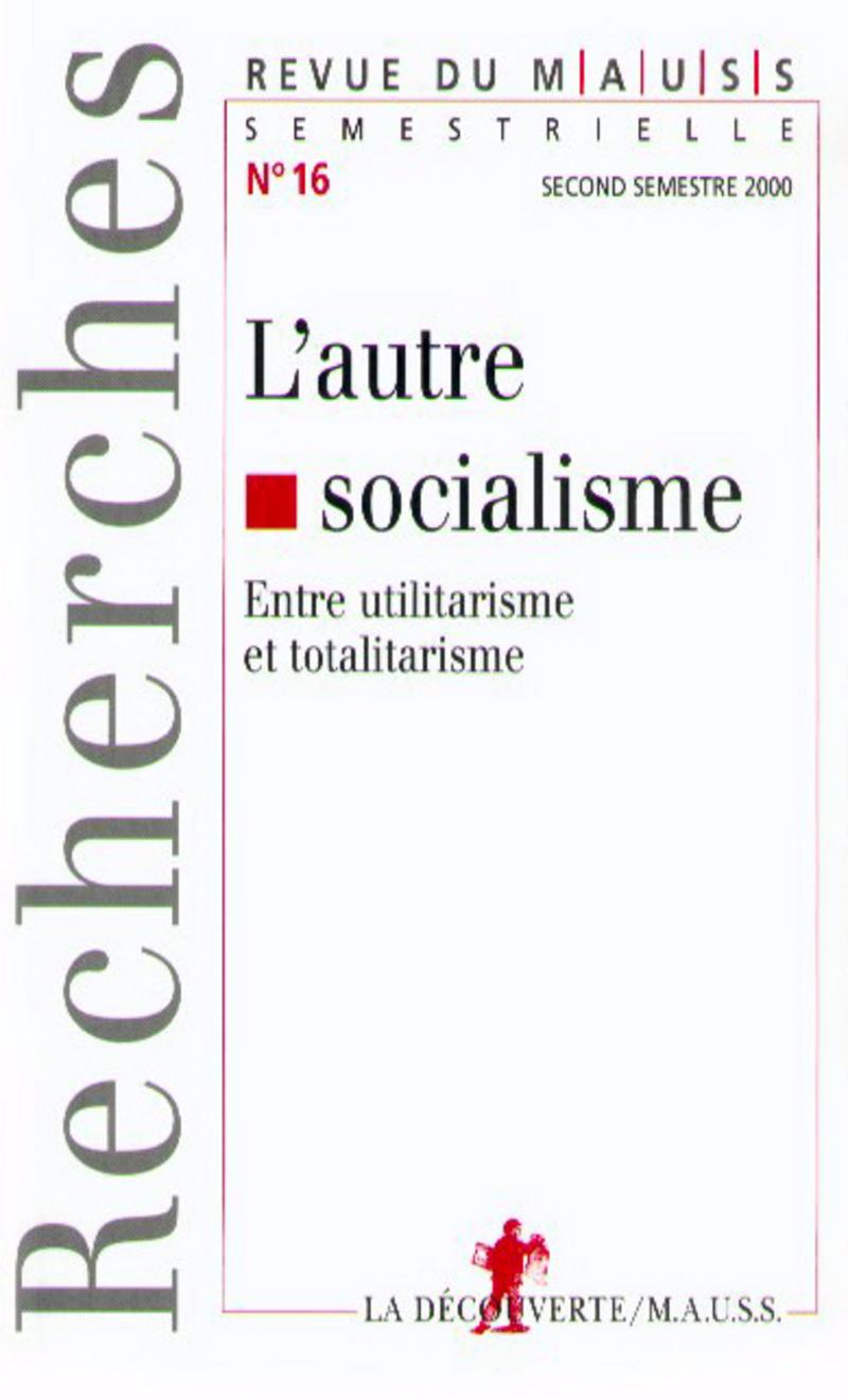 L'autre socialisme -  REVUE DU M.A.U.S.S.