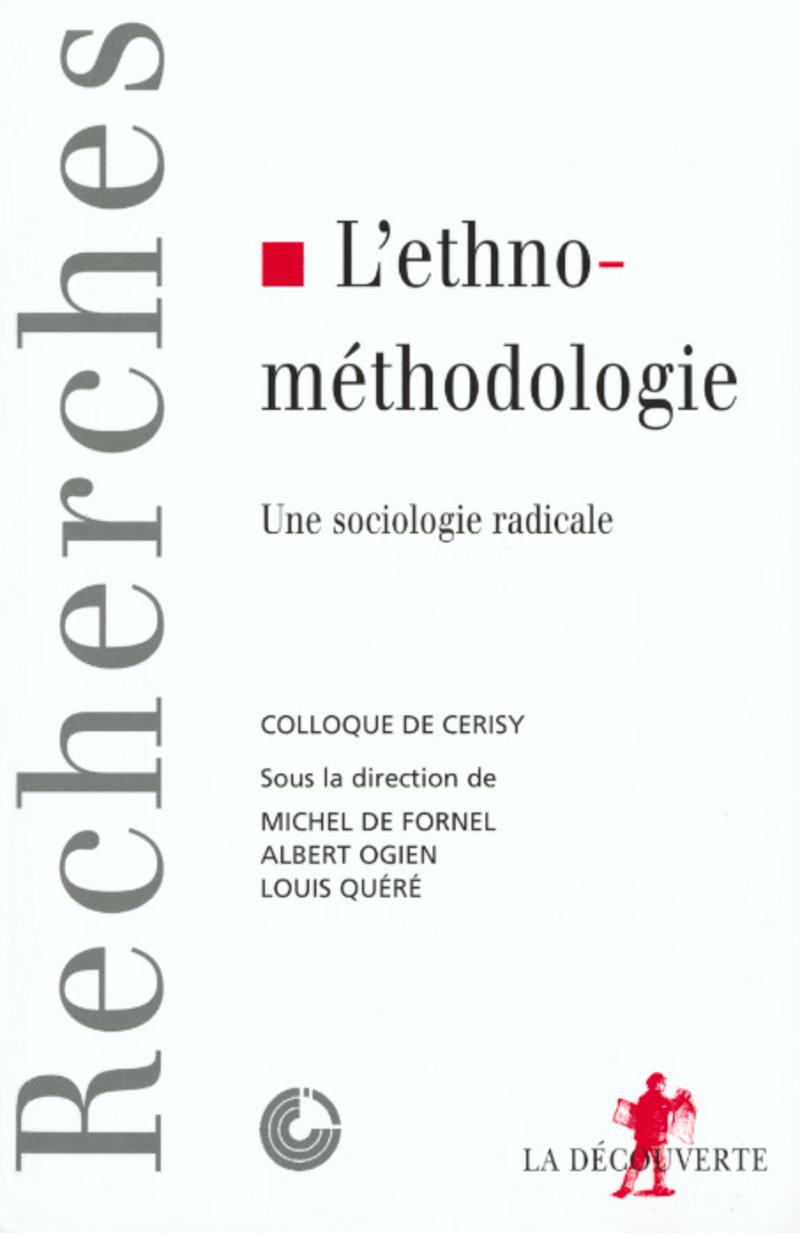 L\'ethnométhodologie