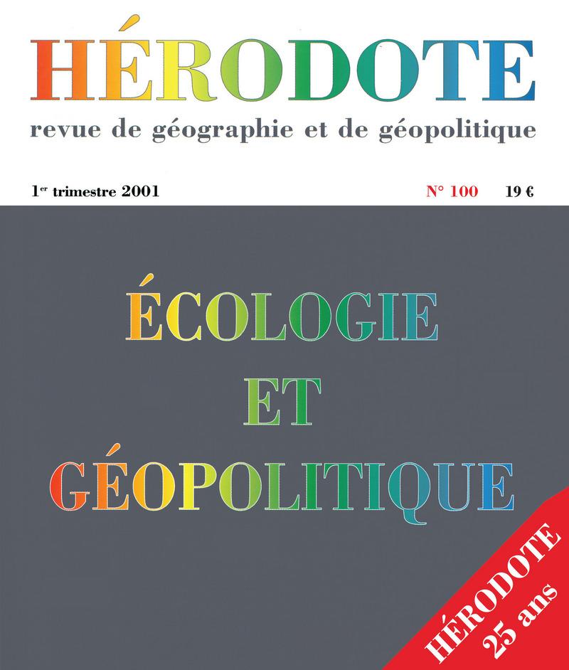 Écologie et géopolitique