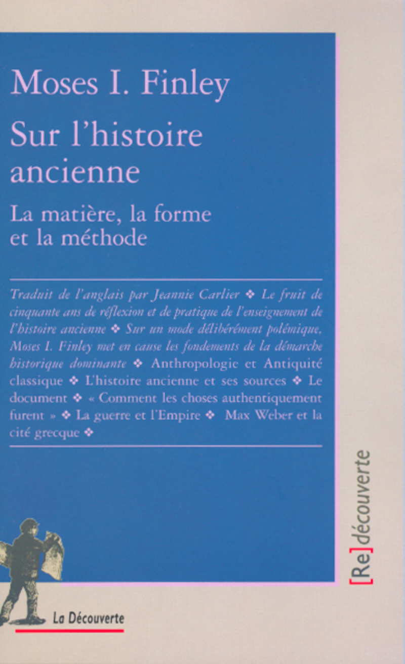 Sur l'histoire ancienne - Moses I. FINLEY
