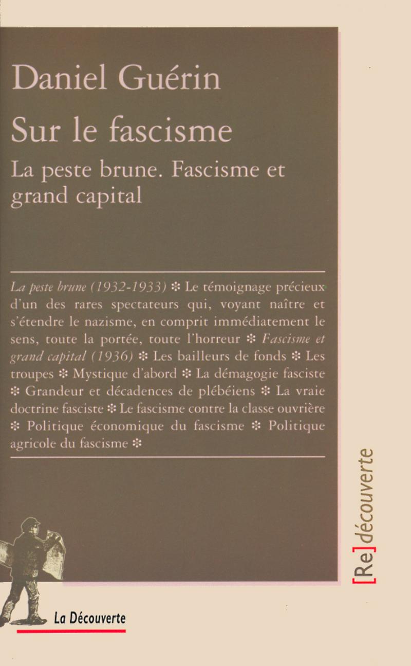 Sur le fascisme - Daniel GUÉRIN