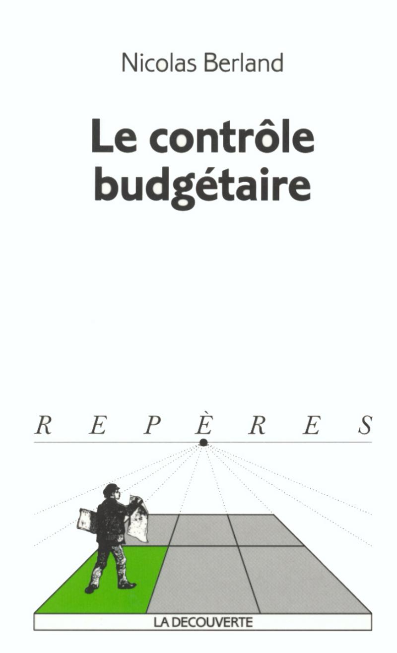 Le contrôle budgétaire - Nicolas BERLAND