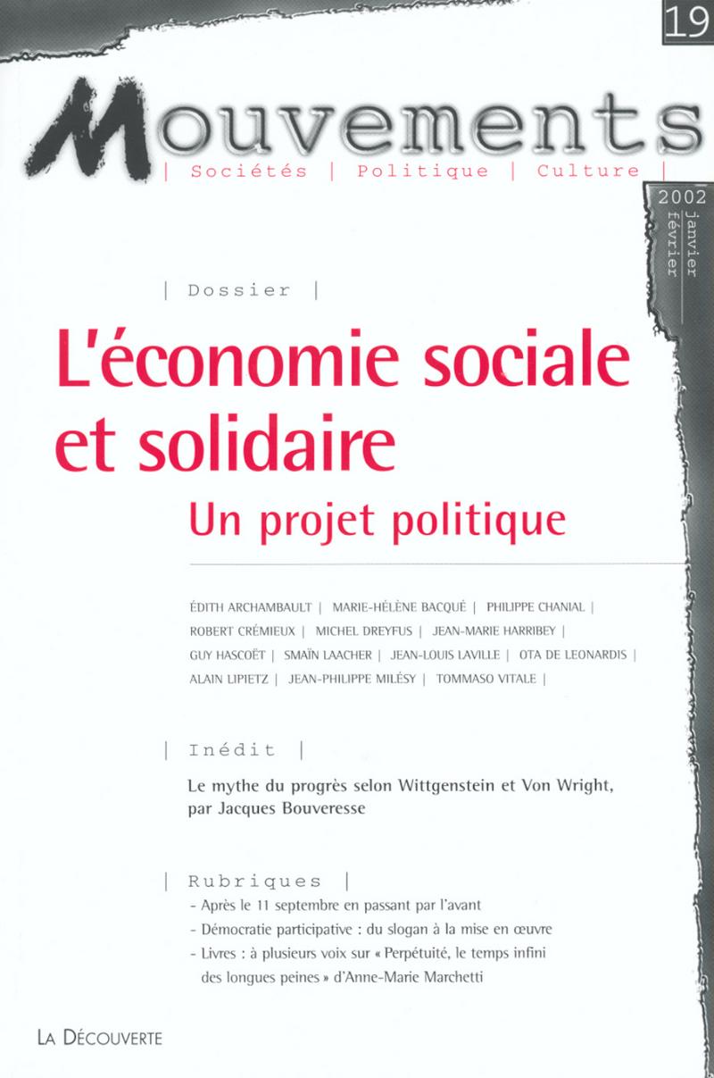 L\'économie sociale et solidaire