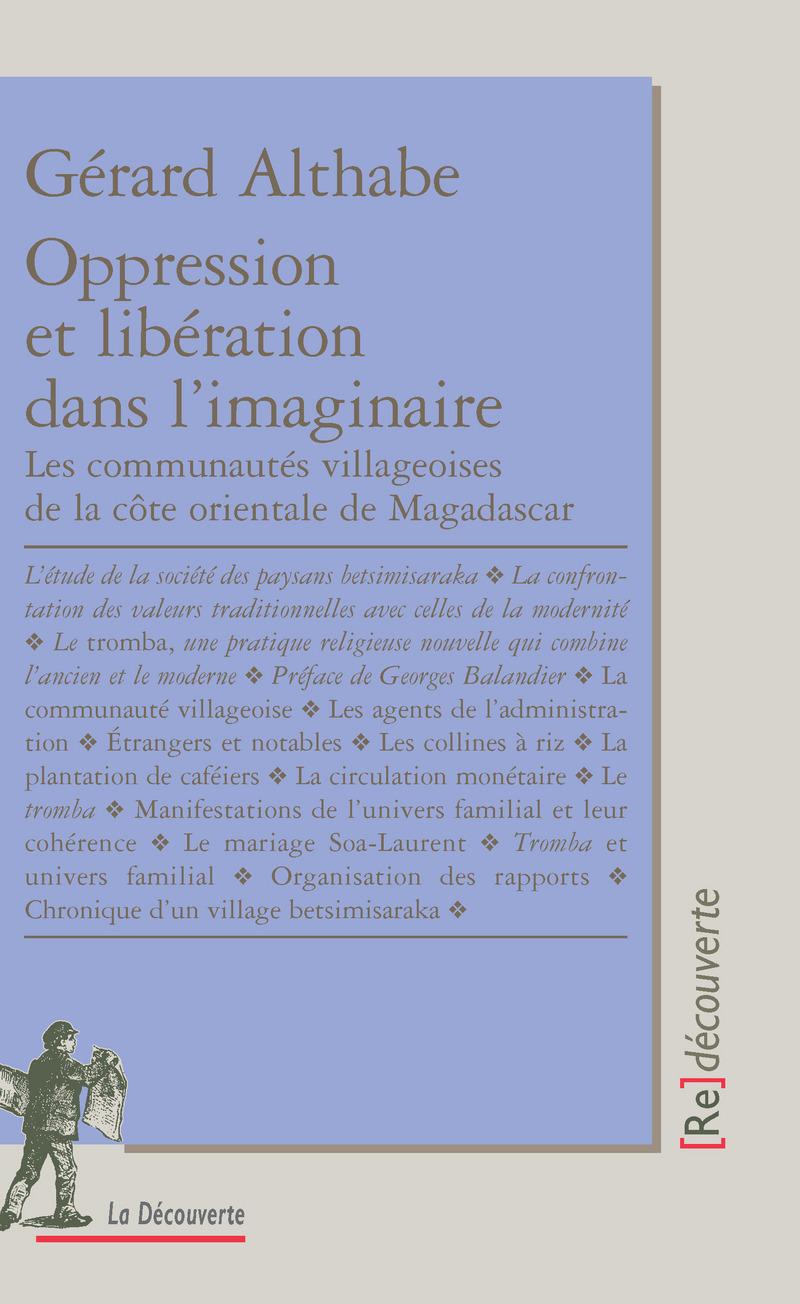 Oppression et libération dans l'imaginaire - Gérard ALTHABE