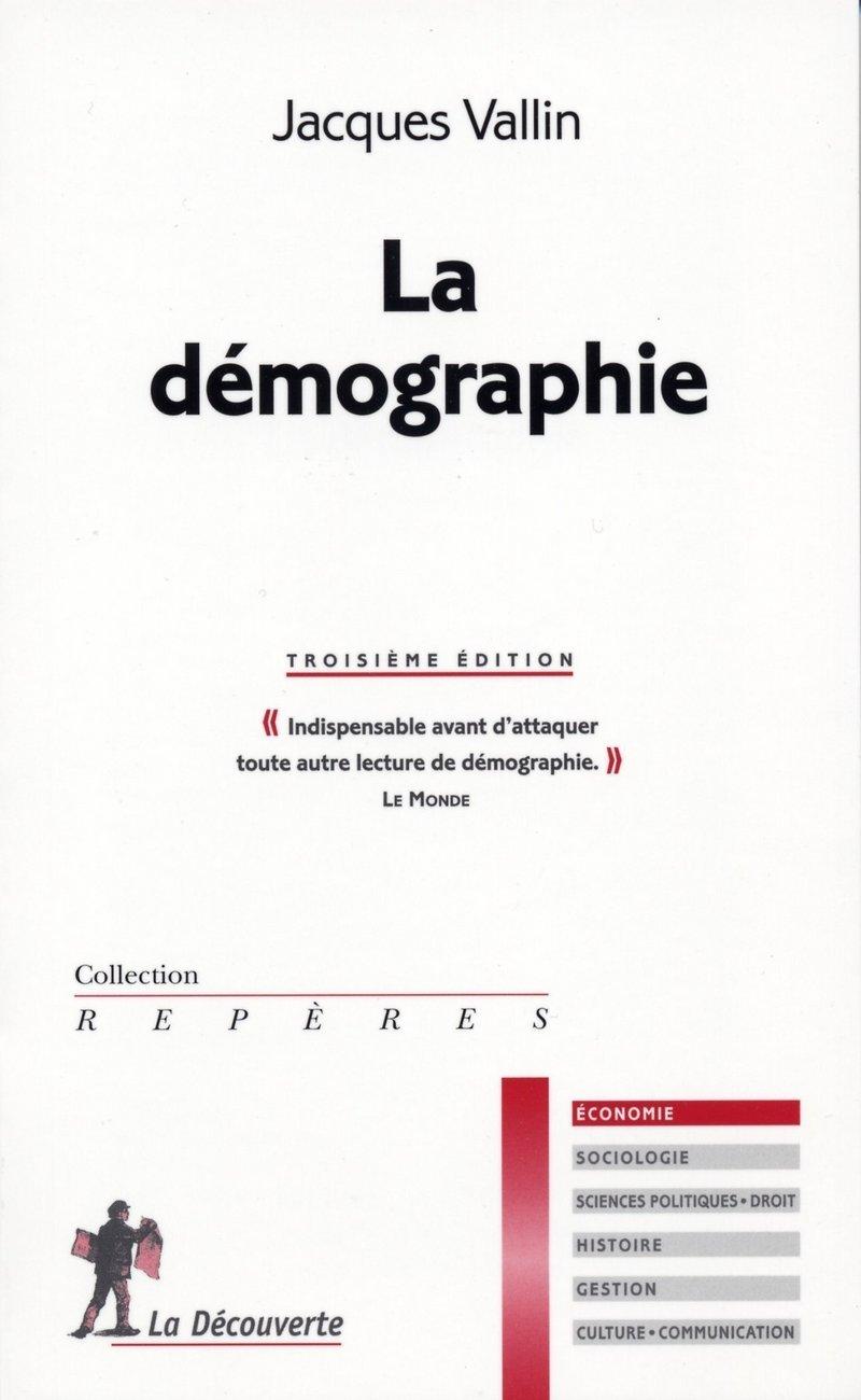 La démographie - Jacques VALLIN