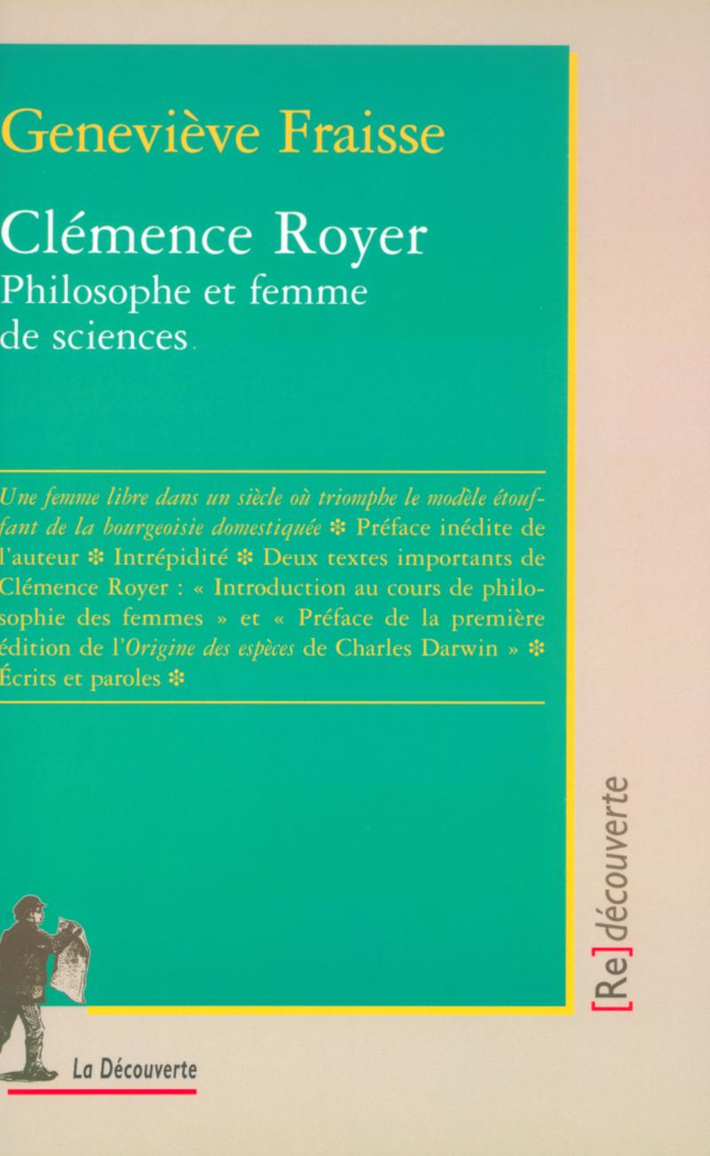 Clémence Royer - Geneviève FRAISSE