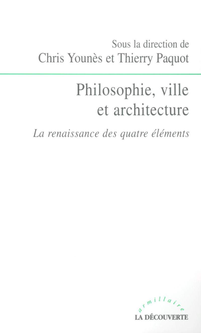 Philosophie, ville et architecture